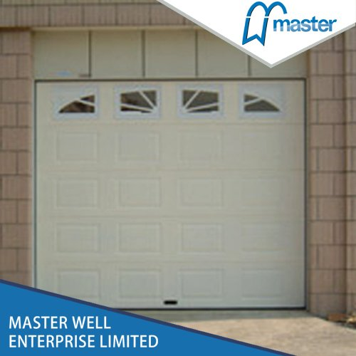 Single Sectional Garage Door with PU Foaming