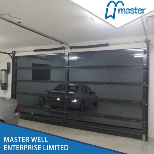 Mirror Glass garage door