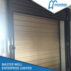 Exterior High Speed Factory Anti-Wind Aluminum Alloy Hard Fast Rolling Doors