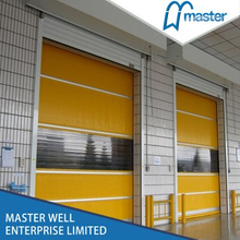 Insulated High Speed PVC Shutter Interior Doors