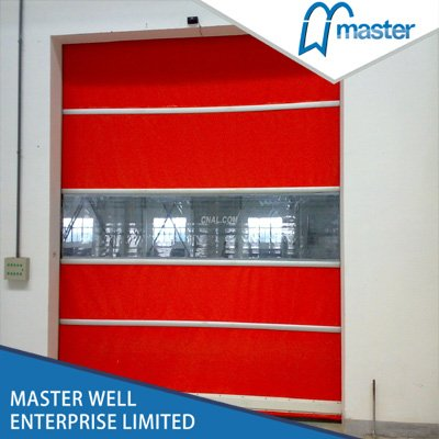 Insulated Commercial High Speed PVC Roll Up Doors
