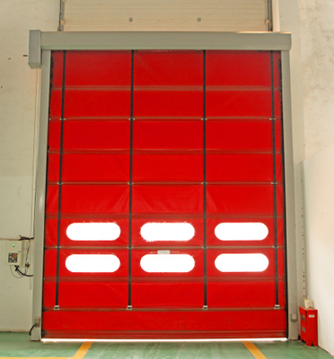 High Speed PVC Stacking Doors