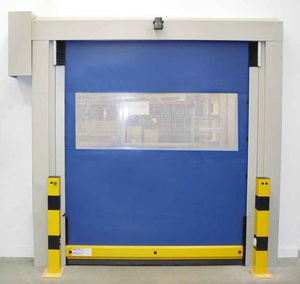 Internal High Speed PVC Self Repairing Zipper Interior Doors