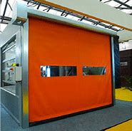 Cheap Industrial High Speed PVC Zipper Doors