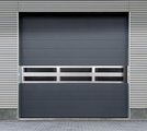 What is the thickness of aluminum alloy high speed spiral doors?
