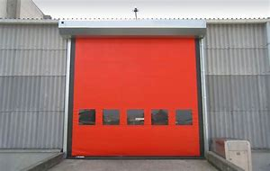 Internal Commercial High Speed PVC Roll Up Doors
