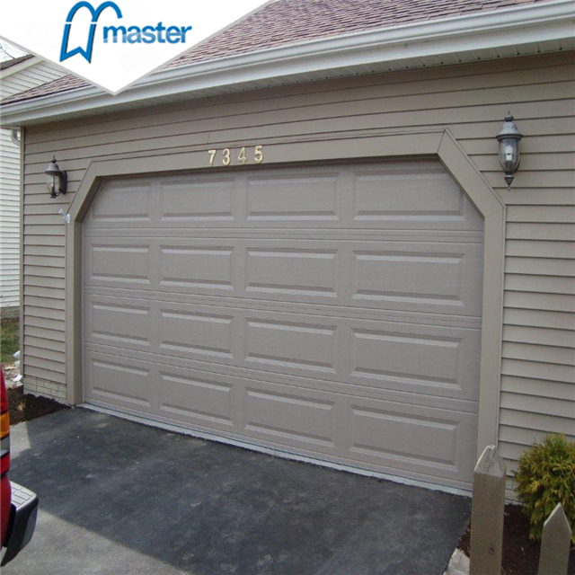 Customized Residential Low Headroom Aluminum Roll Up Garage Doors with Glass