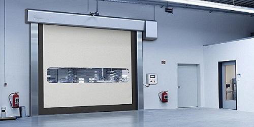 What's the size of high speed PVC shutter doors?