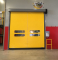 What is the use of high speed PVC zipper doors?