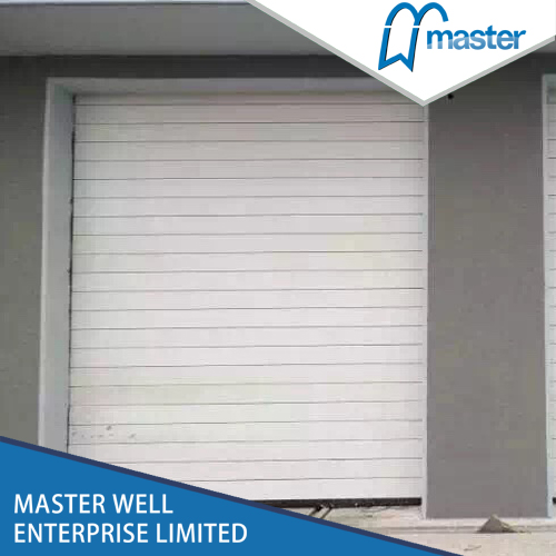 Strong Commercial Security Aluminum Alloy Spiral High Speed Hard Fast Rolling Up Doors