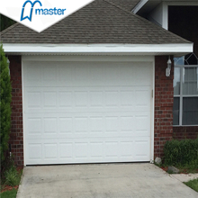 Automatic Commercial Security Steel Roll Up Garage Doors with Windows