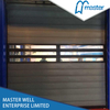 Exterior Factory Security Aluminum Alloy Spiral High Speed Hard Fast Shutter Doors