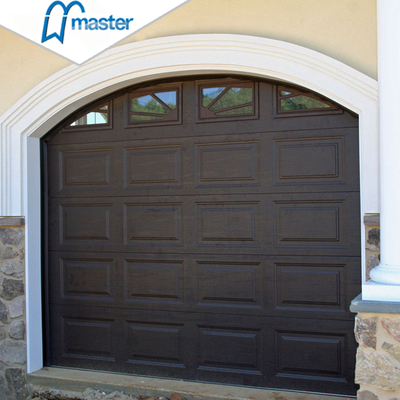 Automatic Commercial Spectacular Single Aluminum Roll Up Garage Doors