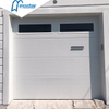 Classic Commercial PU Foaming Overhead Sectional Garage Doors with Windows