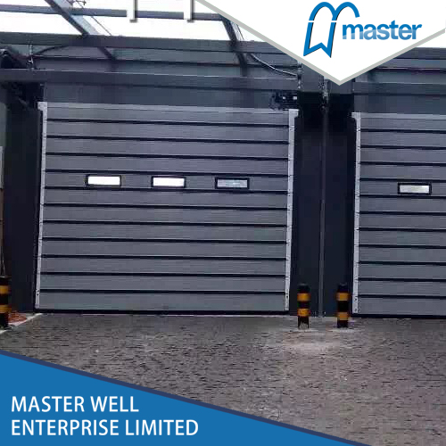 Efficient Logistics Dust Proof Metal Spiral High Speed Hard Fast Rolling Doors