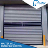 Easy Operational Logistics Sound Proofing PU Foam Spiral High Speed Hard Fast Shutter Doors