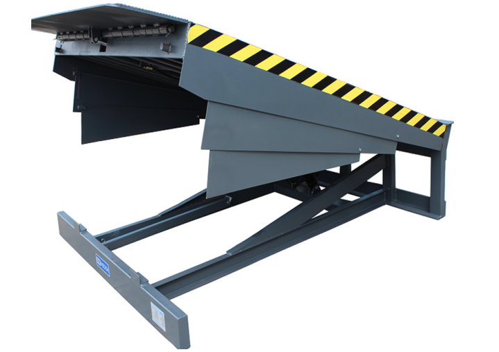 What does a dock leveler do?