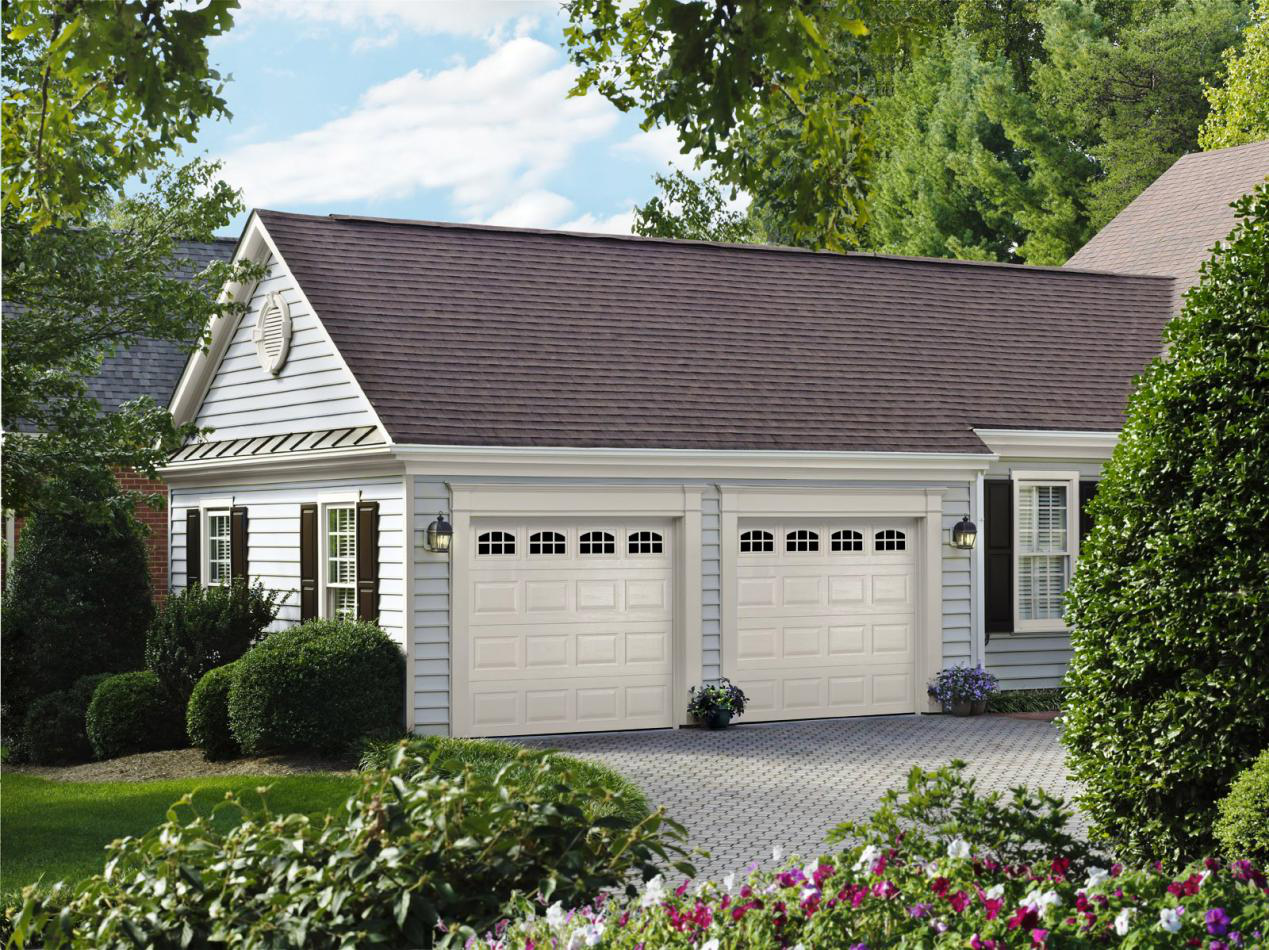 What is the advantages of sectional garage doors