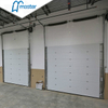 Electrical Galvanized Steel Secure Insulated Industrial Sliding Doors Wit
