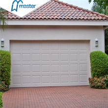 Universal Remote Carriage Style Flush Panel Insulated Overhead Garage Doors with Windows