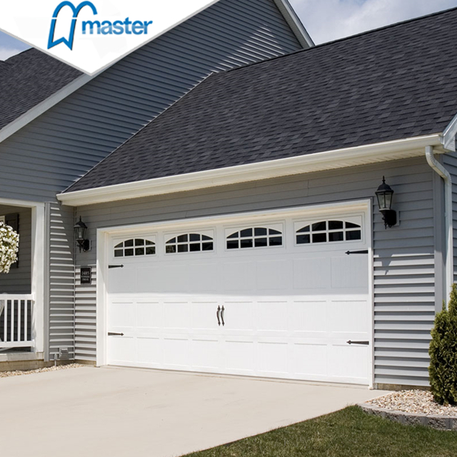What are sectional garage doors?