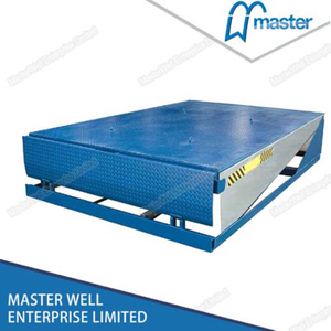 Electrohydraulic 6'x8' Convenient Loading And Unloading Dock Leveller