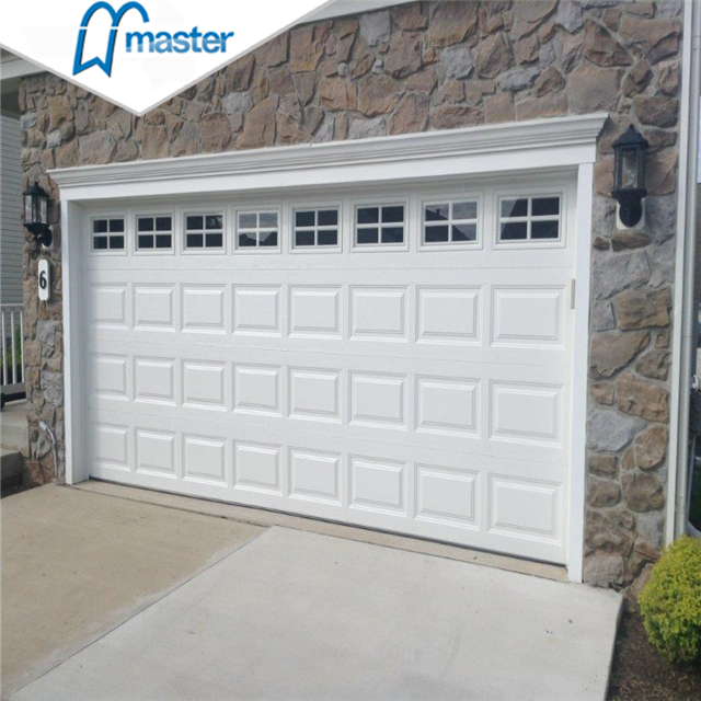 What is the difference between roller and sectional garage doors