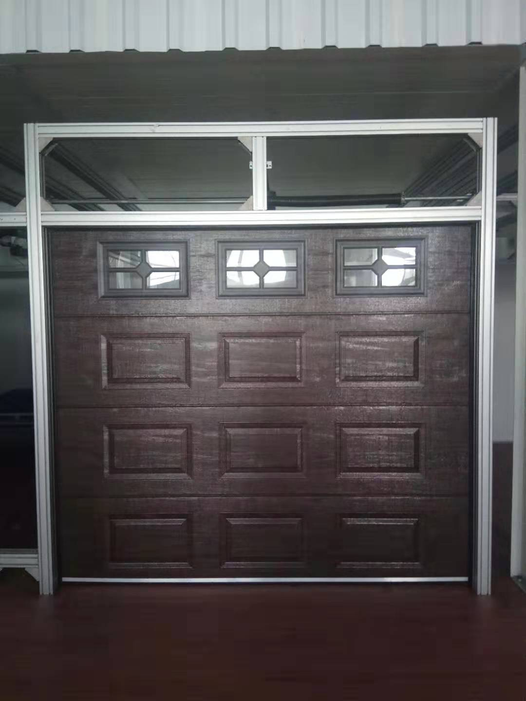What is the average life of a garage door?
