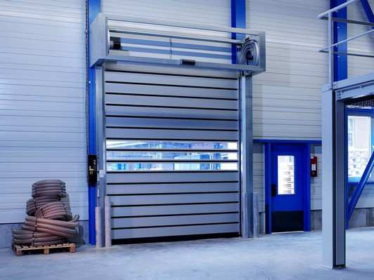 What is the Features of High Speed Spiral Door?