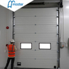 Automatic Upvc Insulated Fire Rated Industrial Folding Doors with Windows