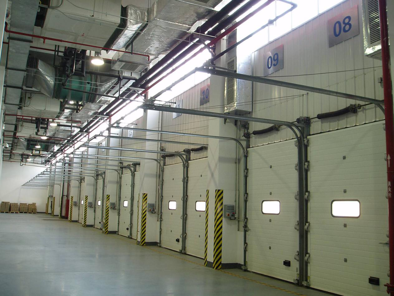 What are the characteristics of industrial Doors?