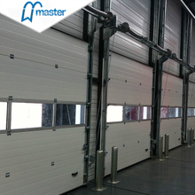 Electrical Electrical Steel Vertical Lift Industrial Doors with Entry