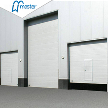 Electrical Side Sliding Steel Vertical Lift Industrial External Doors with Entran